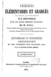 Aenvankelyke en trapsgewyze oefeningen by het onderrigt der Fransche tael in de Vlaemsche lagere scholen