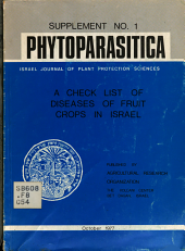 A Check List of Diseases of Fruit Crops in Israel