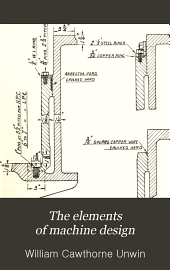 The Elements of Machine Design: Volume 2