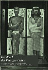 Handbuch der Kunstgeschichte: Band 1