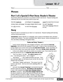 High Frequency Word Phrases Level 5  Dialogue and Quotation Marks PDF