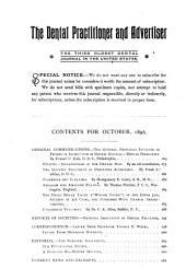 Dental Advertiser: Volumes 26-27