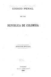 Codigo penal de la república de Colombia