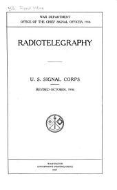 Radiotelegraphy: U.S. Signal Corps