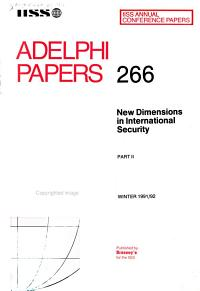 New Dimensions in International Security PDF