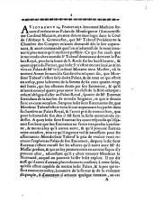 Aviovrd'hvy 14. Feurier 1651. le nommé Mathieu seruant d'ordinaire au Palais de Monseigneur l'Eminentissime Cardinal Mazarin, me vint dire, ...