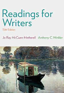 Readings for Writers Book