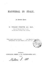 Hannibal in Italy: An Historical Drama