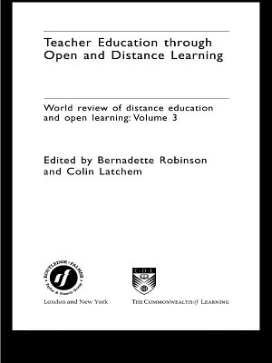 Teacher Education Through Open and Distance Learning PDF