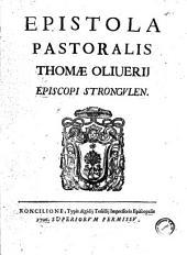 Epistola pastoralis Thomae Oliverij episcopi Strongulen