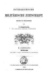 Streffleurs militärische Zeitschrift: Bände 2-3