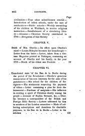 Memoirs of John Frederic Oberlin: Pastor of Waldbach, in the Ban de la Roche