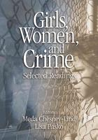 Girls  Women  and Crime PDF