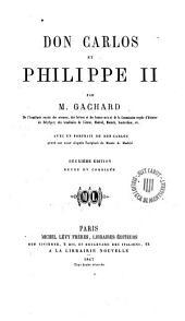 Don Carlos et Philippe II
