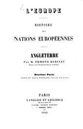 L' Europe, histoire des nations Europeennés: Ornée de beaux portraits gravés sur acier, Volume2