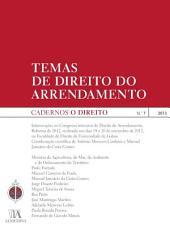 Cadernos O Direito n.o 7 - Temas de Direito do Arrendamento