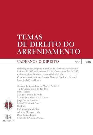 Cadernos O Direito n o 7   Temas de Direito do Arrendamento PDF