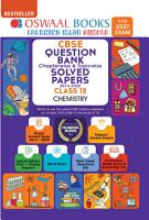 Oswaal CBSE Question Bank Chapterwise   Topicwise Solved Papers Class 12  Chemistry  For 2021 Exam  PDF