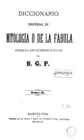 Diccionario universal de mitología ó de la fábula