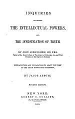 Inquiries Concerning the Intellectual Powers