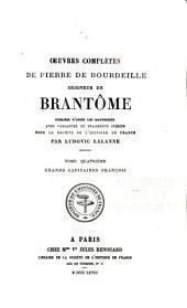 Oeuvres completes de Pierre de Bourdeille: Volume4