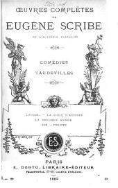 Œuvres complètes de Eugène Scribe: Volume20