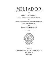 Méliador: Volume36,Numéro1