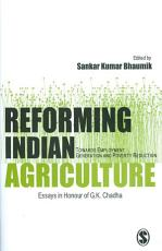 Reforming Indian Agriculture PDF