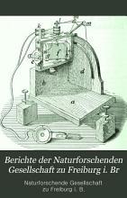 Berichte der Naturforschenden Gesellschaft zu Freiburg i  Br PDF