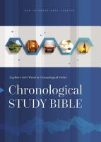 NIV  The Chronological Study Bible  eBook PDF