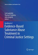 Handbook of Evidence Based Substance Abuse Treatment in Criminal Justice Settings PDF
