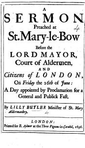 A Sermon preached at St  Mary le Bow before the Lord Mayor     on Friday the 26th of June  a day appointed     for a General and Publick Fast PDF