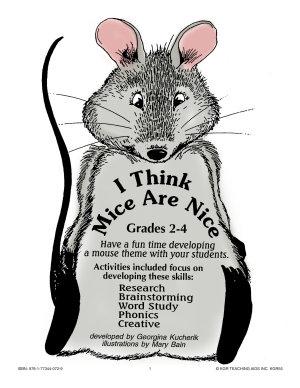 I THINK MICE ARE NICE Gr  2 4 PDF