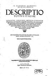 Descriptio totius Italiae