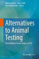 Alternatives to Animal Testing PDF