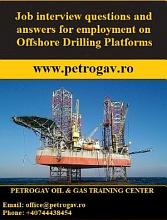 Job interview questions and answers for employment on Offshore Drilling Platforms PDF