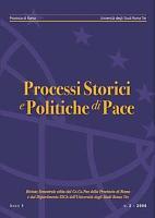 Rivista Processi storici e politiche di pace n  2 2006 PDF