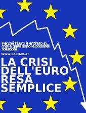 La crisi dell'euro resa semplice. perché l'euro è entrato in crisi e quali sono le possibili soluzioni