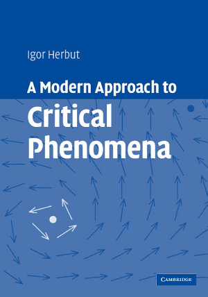 A Modern Approach to Critical Phenomena