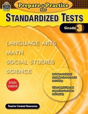 Prepare   Practice for Standardized Tests Grade 3 PDF