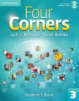 Four Corners Level 3 Student s Book with Self study CD ROM PDF