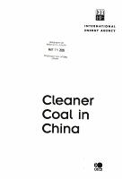 Cleaner Coal in China PDF
