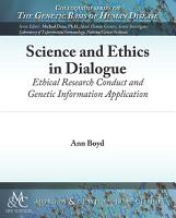 Science and Ethics in Dialogue PDF