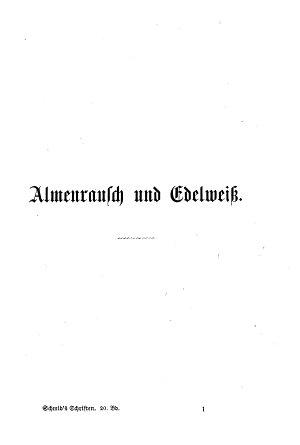 Almenrausch und Edelwei   PDF