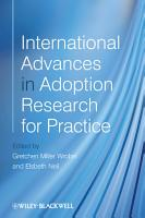 International Advances in Adoption Research for Practice PDF