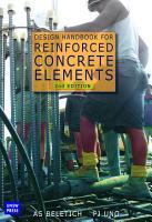 Design Handbook for Reinforced Concrete Elements  2 Edition PDF