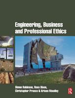 Engineering  Business   Professional Ethics PDF