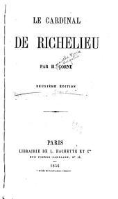 Le cardinal de Richeliéu