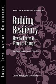 Building Resiliency PDF