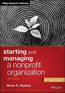 Starting and Managing a Nonprofit Organization PDF